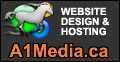 A1Media.ca Website Design and Hosting