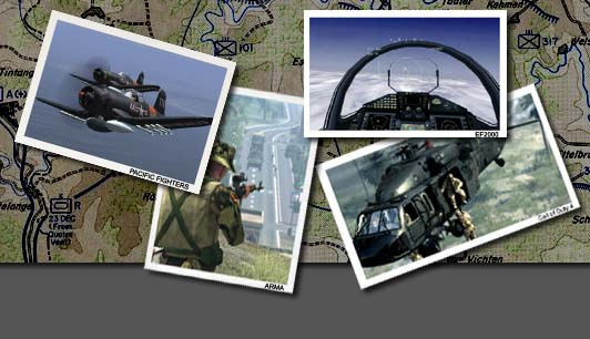 Combatsim.com header graphic